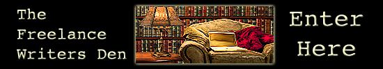 Freelance Writers Den membership site banner