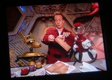 I definitely watched some Mystery Science Theater 3000 back in the day.
