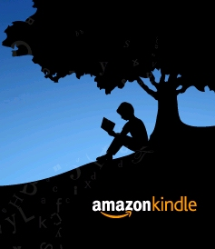 Amazon's Kindle logo.