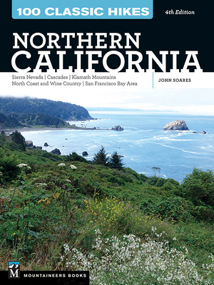 Outdoor writers can write travel guidebooks, like this hiking guidebook on Northern California.